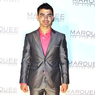 Joe Jonas, Jonas Brothers in The Launch of The Marquee Nightclub - Arrivals