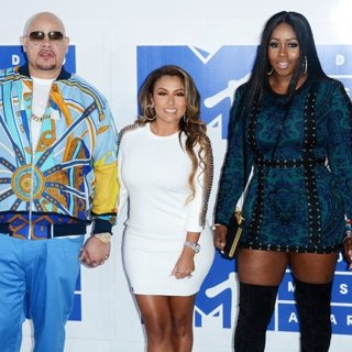 Fat Joe, Remy Ma in 2016 MTV Video Music Awards - Red Carpet Arrivals