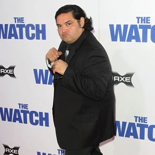 Joe Nunez in Los Angeles Premiere of The Watch