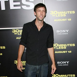 Joel David Moore in Los Angeles Premiere of 30 Minutes or Less