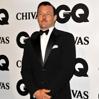 Joel Edgerton in The GQ Australia Men of The Year Awards 2011