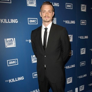 Joel Kinnaman in Premiere of AMC's Series The Killing