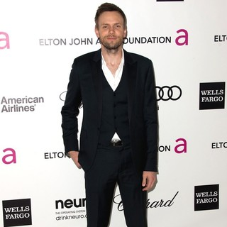 Joel McHale in The 20th Annual Elton John AIDS Foundation's Oscar Viewing Party - Arrivals