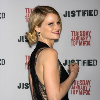 Joelle Carter in Justified Premiere Screening - Directors Guild of America