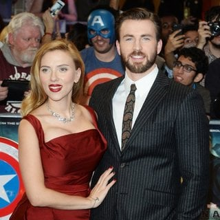 Scarlett Johansson, Chris Evans in UK Premiere of Captain America: The Winter Soldier