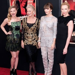 Scarlett Johansson, Helen Mirren, Jessica Biel, Toni Collette in The Hitchcock Premiere
