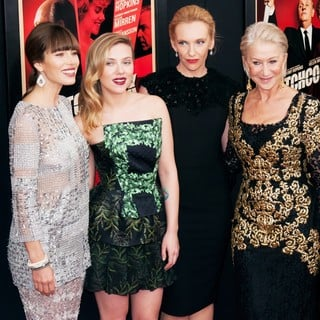 Jessica Biel, Scarlett Johansson, Toni Collette, Helen Mirren in The Hitchcock Premiere