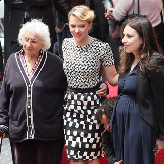 Scarlett Johansson, Melanie Sloan in Scarlett Johansson Is Honored with A Star on The Hollywood Walk of Fame