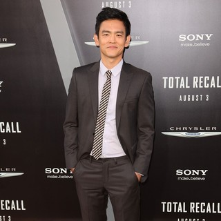 John Cho in Los Angeles Premiere of Total Recall