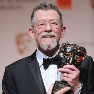 John Hurt in Orange British Academy Film Awards 2012 - Press Room