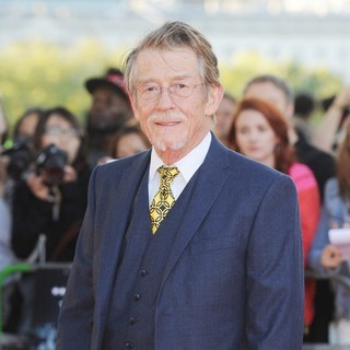 John Hurt in The Premiere of Tinker, Tailor, Soldier, Spy
