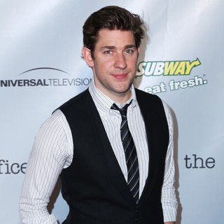 John Krasinski in The Office Series Finale Wrap Party - Arrivals