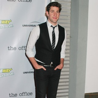 John Krasinski in The Office Series Finale Wrap Party - Arrivals - john-krasinski-the-office-series-finale-wrap-party-03