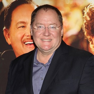 John Lasseter in Saving Mr. Banks Los Angeles Premiere