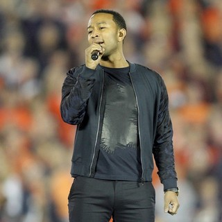 John Legend in The 2014 Vizio BCS National Championship Game at The Rose Bowl