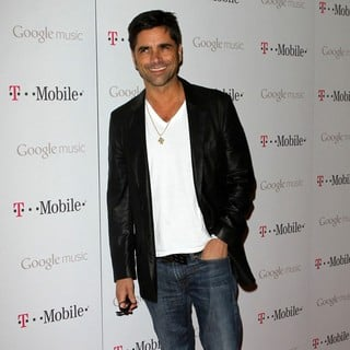 John Stamos in Celebrity Magenta Carpet Arrivals at The Launch Party for Google Music Available on T-Mobile