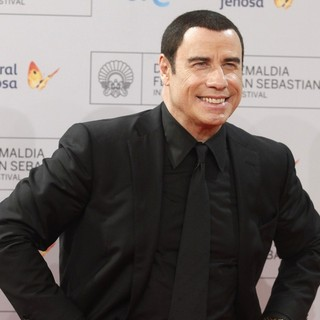 John Travolta in John Travolta and Oliver Stone Are Awarded with Donostia Lifetime Achievement Awards