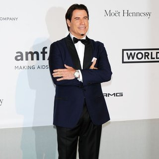 John Travolta in amfAR 21st Annual Cinema Against AIDS During The 67th Cannes Film Festival