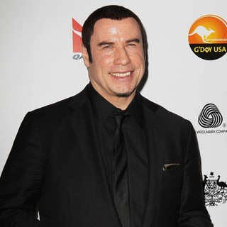 John Travolta in G'Day USA 2013 Black Tie Gala - Arrivals