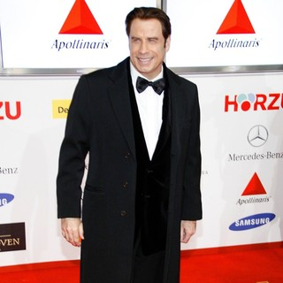 John Travolta in The Goldene Kamera (Golden Camera) Awards