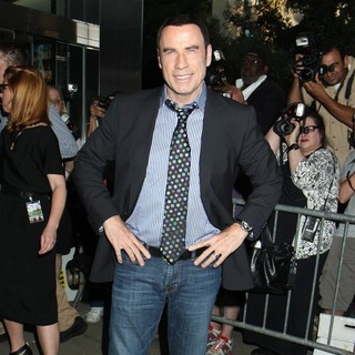 John Travolta in New York Premiere of Savages - Outside Arrivals - john-travolta-ny-premiere-savages-05