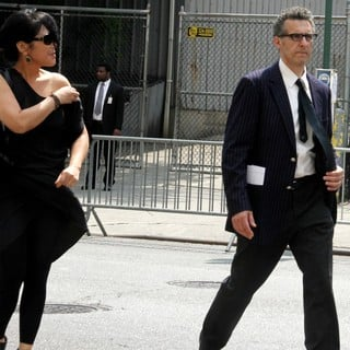 John Turturro in The Funeral Service for Actor James Gandolfini