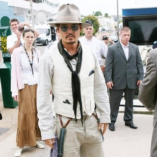 Johnny Depp in 2011 Cannes International Film Festival - Day 4 - Pirates of the Caribbean On Stranger Tides
