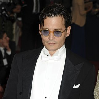 Johnny Depp in Charles James: Beyond Fashion Costume Institute Gala - Arrivals
