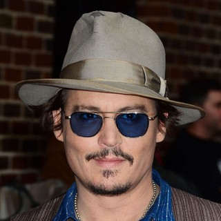Johnny Depp - The Late Show with David Letterman - Arrivals