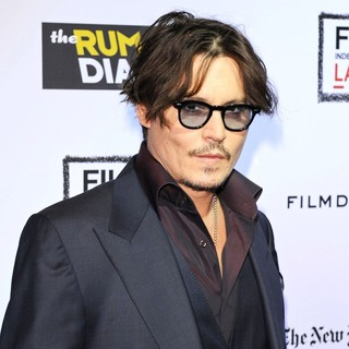 Johnny Depp in The Rum Diary Premiere - Arrivals