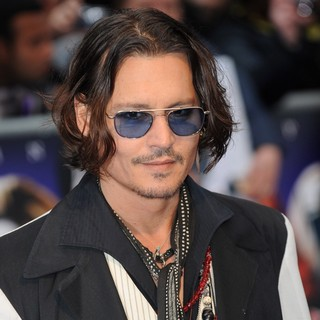 Johnny Depp in UK Premiere of Dark Shadows - Arrivals