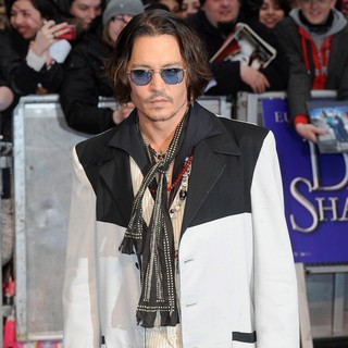 Johnny Depp - UK Premiere of Dark Shadows - Arrivals