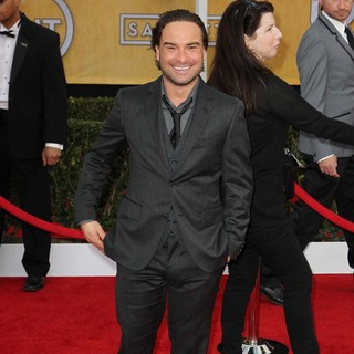 Johnny Galecki in 19th Annual Screen Actors Guild Awards - Arrivals