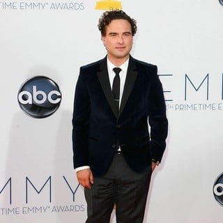 Johnny Galecki in 64th Annual Primetime Emmy Awards - Arrivals