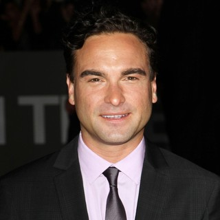 Johnny Galecki in The Premiere of In Time - Arrivals