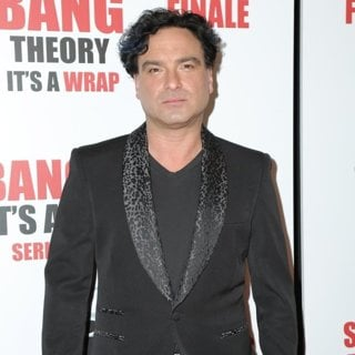Johnny Galecki in The Big Bang Theory Series Finale Party