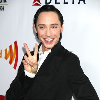 Johnny Weir in 23rd Annual GLAAD Media Awards