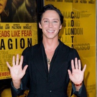 Johnny Weir in New York Premiere of Contagion - Arrivals