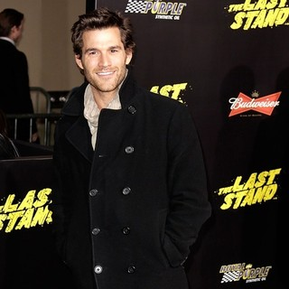 Johnny Whitworth in The World Premiere of The Last Stand