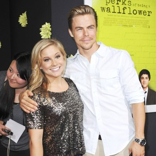 Shawn Johnson in The Los Angeles Premiere of The Perks of Being a Wallflower - Arrivals - johnson-hough-premiere-the-perks-of-being-a-wallflower-01