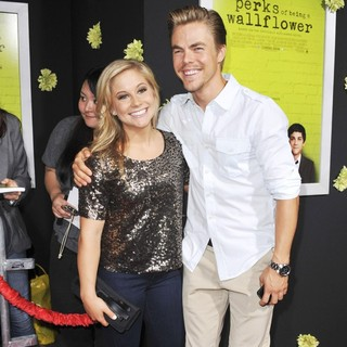 Shawn Johnson, Derek Hough in The Los Angeles Premiere of The Perks of Being a Wallflower - Arrivals