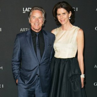 Don Johnson, Kelley Phleger in 2014 LACMA Art + Film Gala Honoring Barbara Kruger and Quentin Tarantino Presented by Gucci