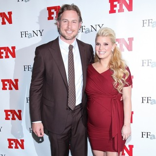 Eric Johnson (II), Jessica Simpson in 25th Annual Footwear News Achievement Awards - Arrivals