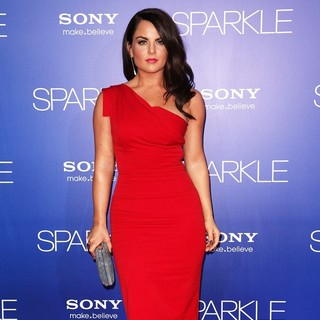 The Los Angeles Premiere of Sparkle - Inside Arrivals
