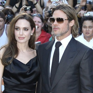 Angelina Jolie, Brad Pitt in 36th Annual Toronto International Film Festival - Moneyball - Premiere
