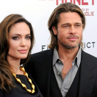Angelina Jolie, Brad Pitt in Premiere of In the Land of Blood and Honey - Arrivals