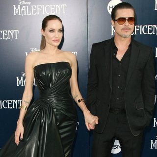 Angelina Jolie, Brad Pitt in World Premiere of Disney's Maleficent