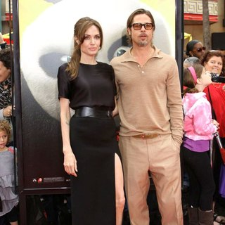Angelina Jolie, Brad Pitt in Los Angeles Premiere of Kung Fu Panda 2