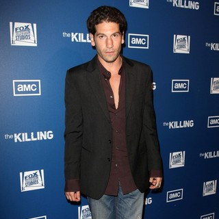 Jon Bernthal in Premiere of AMC's Series The Killing - jon-bernthal-premiere-the-killing-02