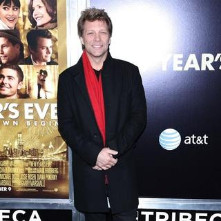 Jon Bon Jovi in New York Premiere of New Year's Eve - Arrivals
